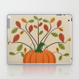 Fall Pumpkin Laptop & iPad Skin