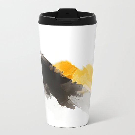 Yellow Mountain Metal Travel Mug