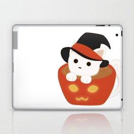 Halloween Catpuccino Laptop & iPad Skin