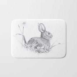 Bunny in the Field Bath Mat