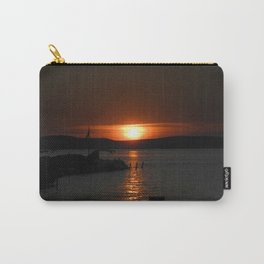 Silver Lake Sunset Landscape Carry-All Pouch