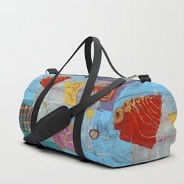 Colours and Shapes (Abstract) Duffle Bag