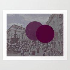 London Square Art Print
