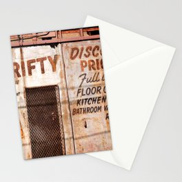 Thrifty Stationery Cards