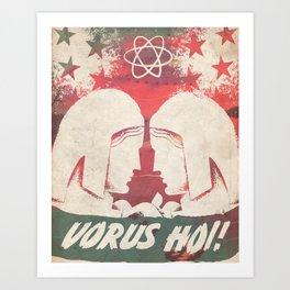 VORUS HOI Art Print