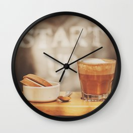 Start up Wall Clock