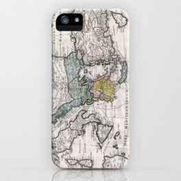 Map of Ancient Greece and the Eastern Mediterranean by Heirs Homann - 1741 iPhone Case