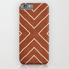 Hook in Rust iPhone Case