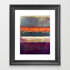 Edges Framed Art Print