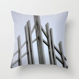 Brussels V Throw Pillow