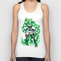 sublime Tank Tops featuring Royal Ranger - Sublime Emerald by 121gigawatts