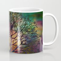 celestial Mugs featuring Celestial Phenomenon by Klara Acel