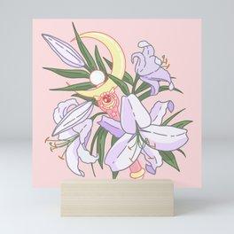Moon Flower Mini Art Print