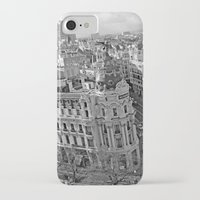 madrid iPhone & iPod Cases featuring Madrid by Cristina Serrano