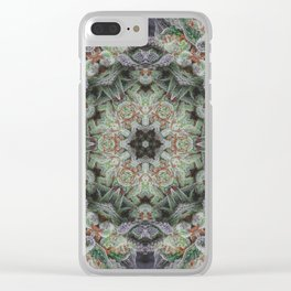 Crystal Wheel Clear iPhone Case