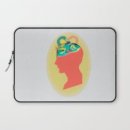 I can´t read your mind Laptop Sleeve