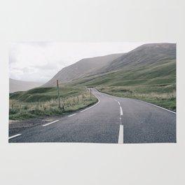 Scottish roadtrip Rug