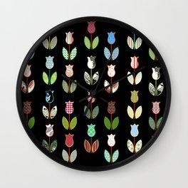 Tulips / 02 Wall Clock