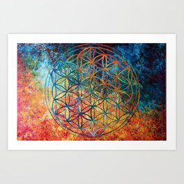 Exclusive Flower Of Life Art Print
