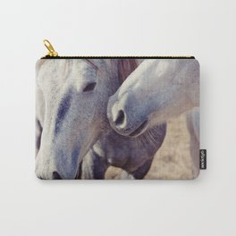 Horse Kisses Carry-All Pouch
