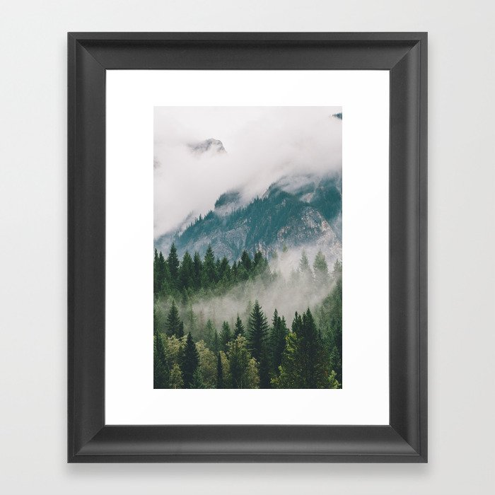 Vancouver Fog Gerahmter Kunstdruck