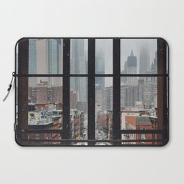 New York City Window Laptop Sleeve