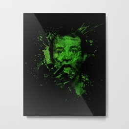 Splatter Venkman Metal Print