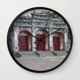 Gates to Royal Tomb Wall Clock
