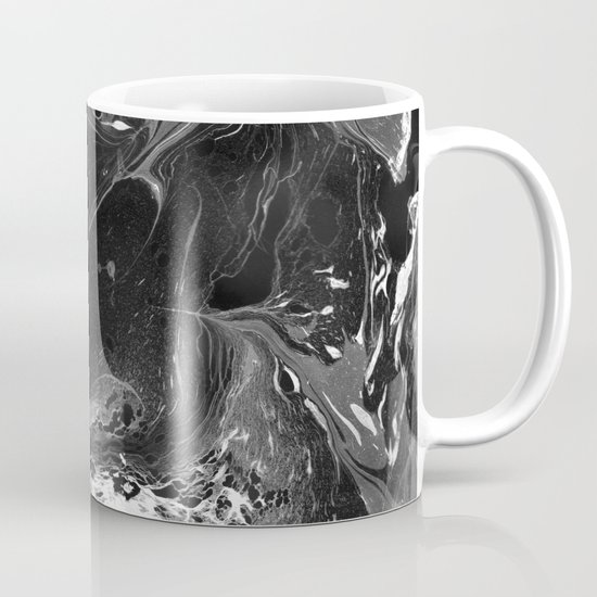 // MARBLED BLACK // Mug