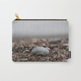 shell on the sandy shore Carry-All Pouch