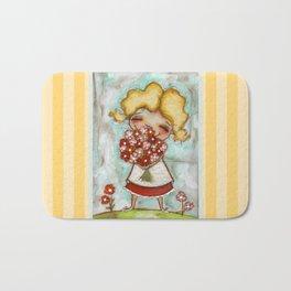 Smells like Spring - by Diane Duda Bath Mat
