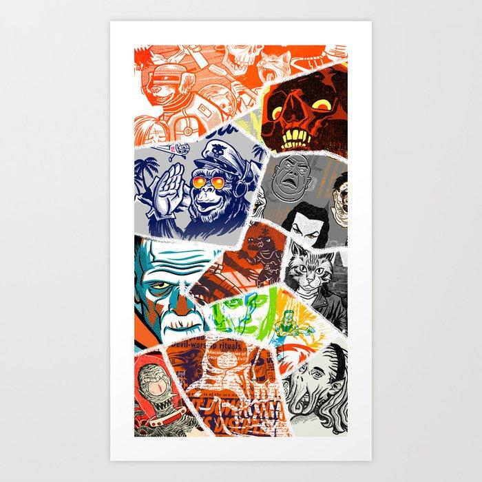 a few favorites Art Print