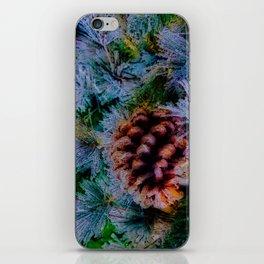 Vibrant Evergreen Christmas iPhone Skin