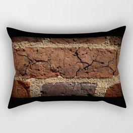 Cracked Brick Rectangular Pillow
