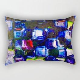 Sapphire Trinkets Rectangular Pillow
