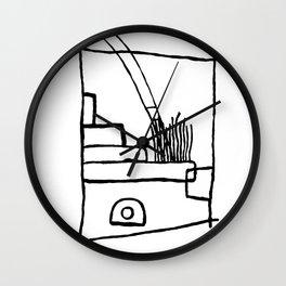 Taos Pueblo Wall Clock