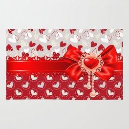 Hearts Valentines Rug