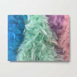 Colorful boa Metal Print