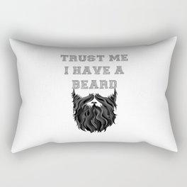 Trust me I have a Beard Rectangular Pillow