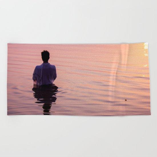 Meditation Time Beach Towel