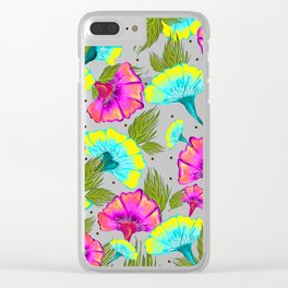 Ecstatic Floral #society6 #decor #buyart Clear iPhone Case