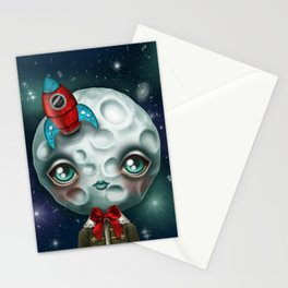 Moon Boy Stationery Cards