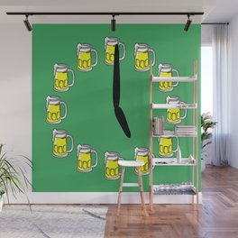 Beer o'clock Wall Mural