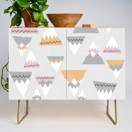 To the mountains! Credenza