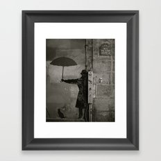 Rue du chat qui pêche  Framed Art Print