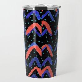 Abstract Arrow Print Travel Mug
