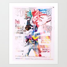 Bobby Stones Art Print
