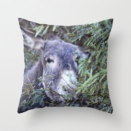 Having Lunch In The Trees Throw Pillow
