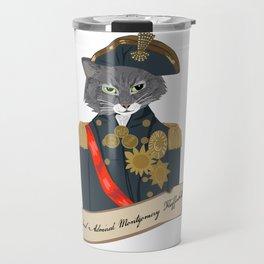 His Lordship Admiral Montgomery Flufferbutt Travel Mug