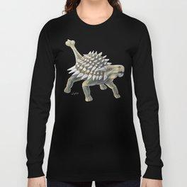 Green Ankylosaurus Long Sleeve T-shirt